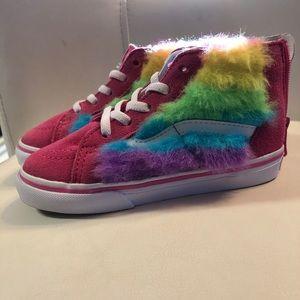 Rainbow 🌈 toddler Vans